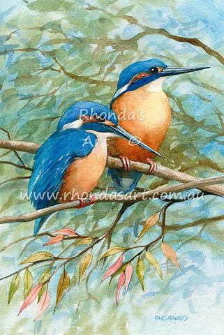 Two Kingfishers 2