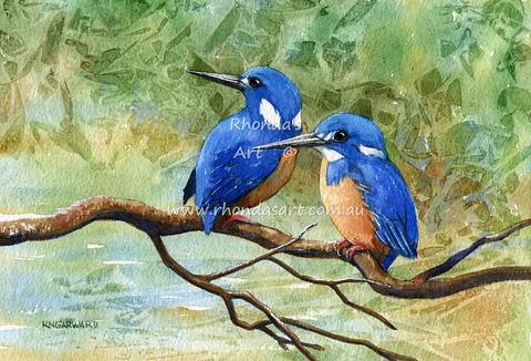 Two Kingfishers 4