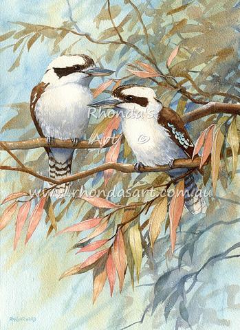 Two Kookaburras 22