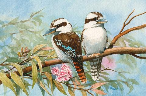Two Kookaburras 34