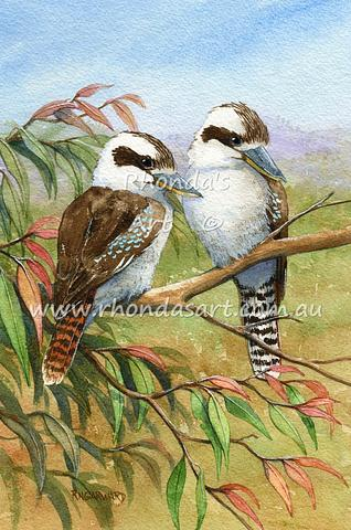 Two Kookaburras 65