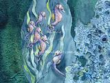 Seahorses in Seaweed