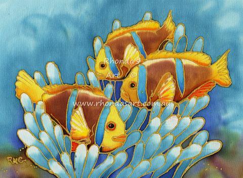 Three Anenome Fish