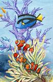 Original painting from Tilly - Blue Tang and Anemone Fish