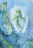 Little Green Seahorses M1
