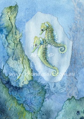 Little Green Seahorses M1